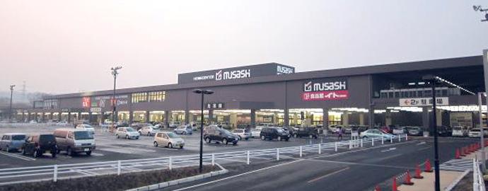 ホームセンタームサシ名取店外観